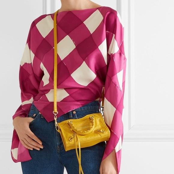 Balenciaga Handbags - ⚡SOLD ON TRADESY⚡NEW METALLIC EDGE BALENCIAGA NANO